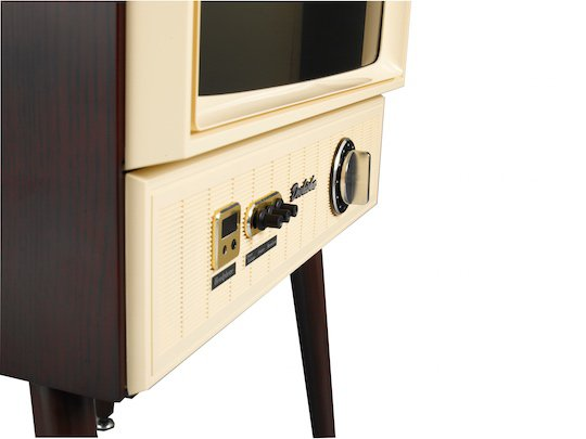 japan vintage taste lcd television retro analog screen tv