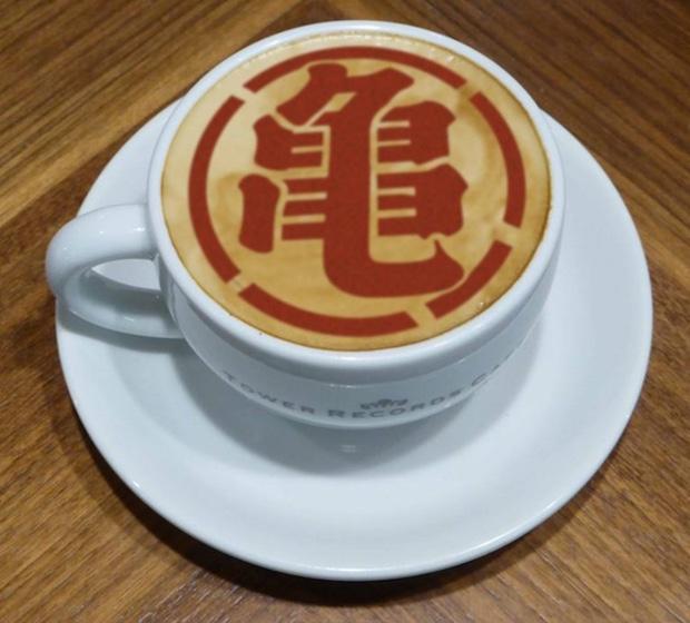dragon ball tower records cafe tokyo osaka