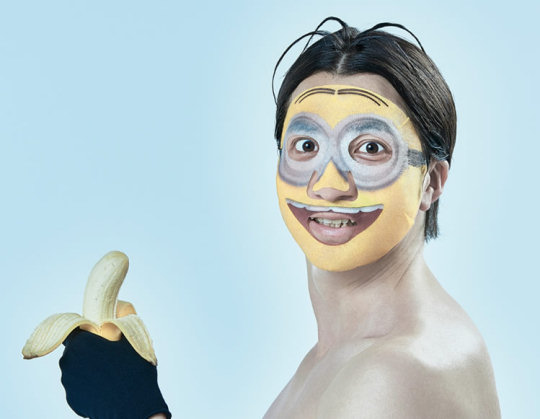 minion face pack beauty