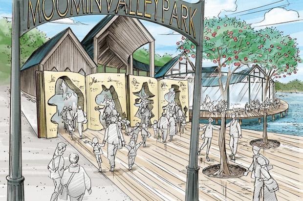 moominvalley park theme japan saitama metsa-village hanno miyazawa lake
