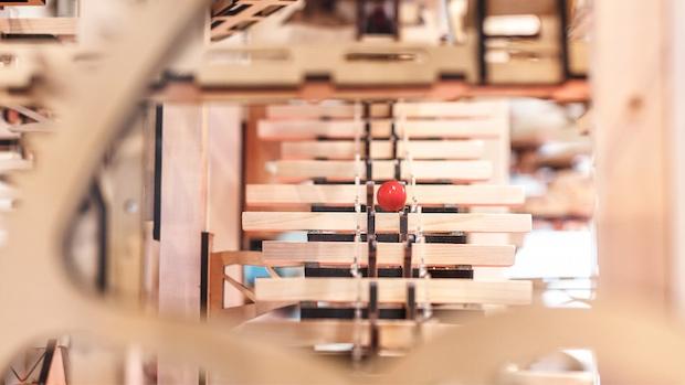 nescafe harajuku tokyo shuta hasunume music instrument coffee moment ensemble coffee machine contraption