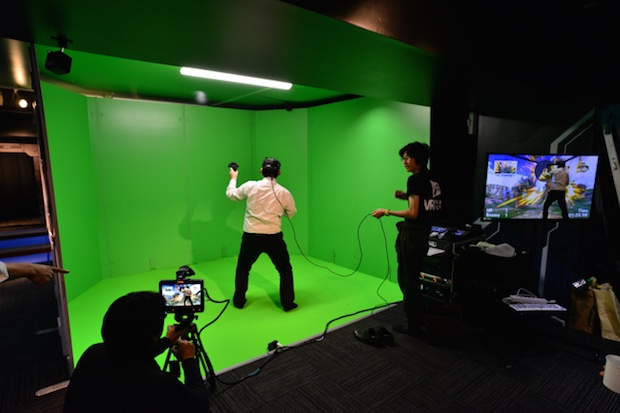 vr park tokyo shibuya virtual reality entertainment center space