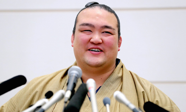 kisenosato yokozuna wrestler sumo japanese
