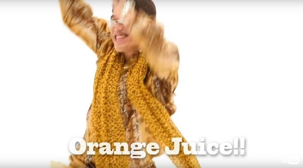 pikotaro i like orange juice OJ music video