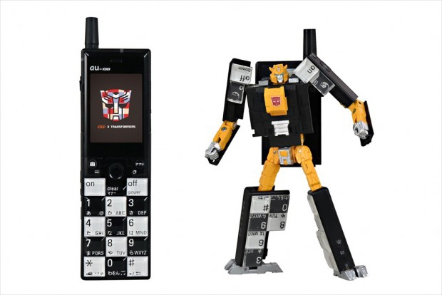 Transformers au Infobar Cell Phone Project Japan 7