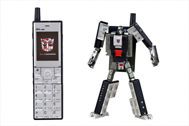 Transformers au Infobar Cell Phone Project Japan 8