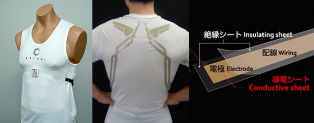 high tech cocomi undershirt detects drowsiness drivers japan