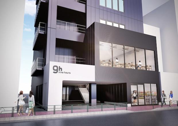9 hours nine shinjuku north tokyo designer capsule hotel