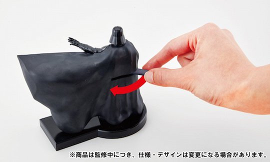 darth vader toothsaber toothpick dispenser bandai japan