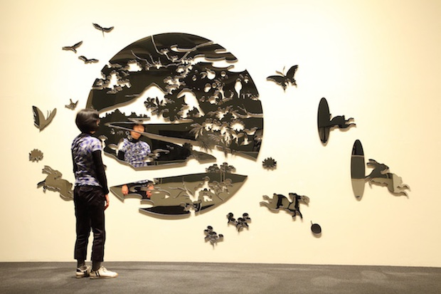 ginza six art installation tokyo