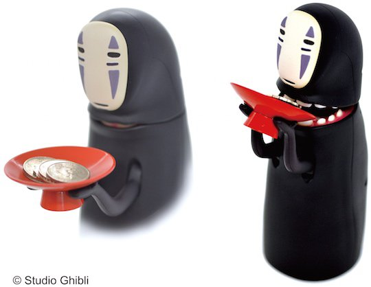 spirited-away-kaonashi noface piggy bank money box coin