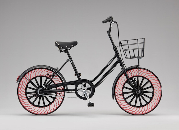 bridgestone airless airfree tires bicycle