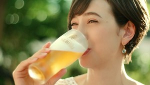 japanese beer advertising commercial