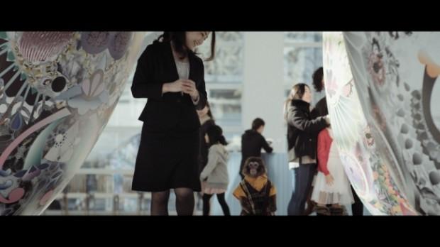oita city saru tabi monkey promotional video campaign 1