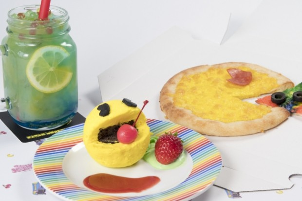 pac man store kawaii monster cafe collaboration menu event japan 1