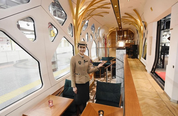 train suite shikishima japan luxury sleeper rail