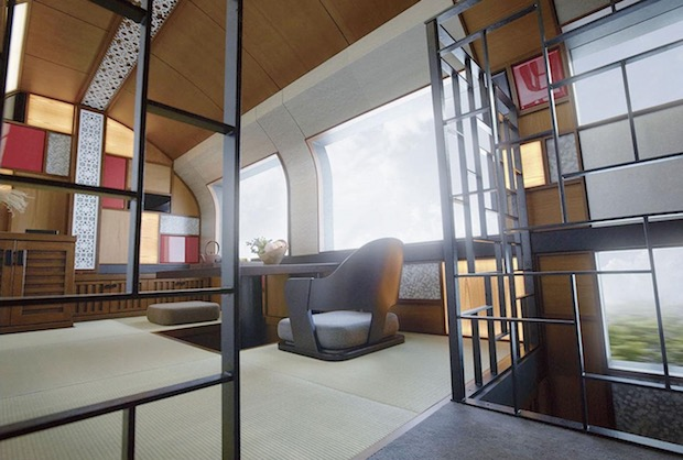 train suite shikishima japan luxury sleeper rail