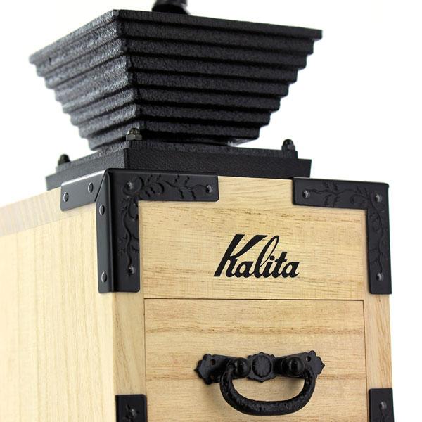 kalita coffee mill paulownia hand grinder 4