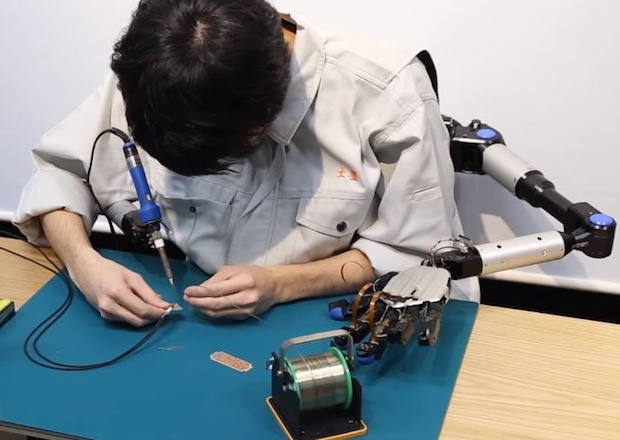 metalimbs robotic arms wearable technology