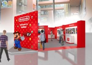 nintendo mario video game check-in play kansai airport