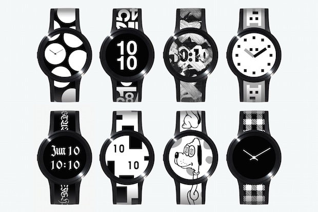 sony fes watch u e-paper e-ink wristwatch