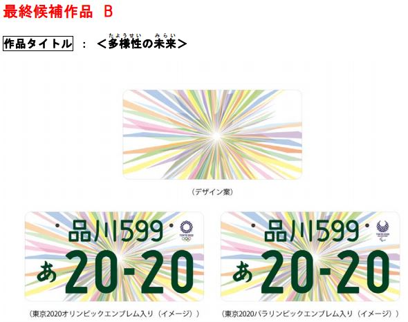 tokyo 2020 summer olympics license plate design contest 3