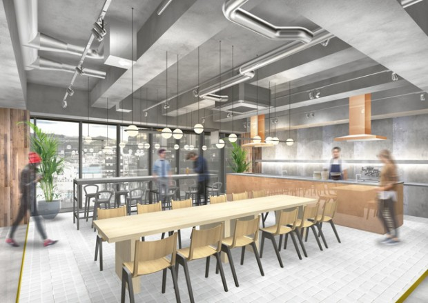 andwork kyoto hybrid hotel coworking space 3