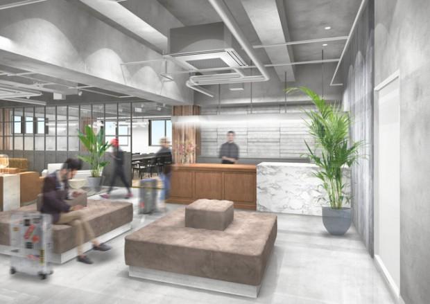andwork kyoto hybrid hotel coworking space 4