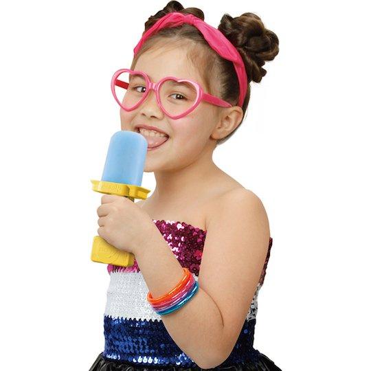 perotto ice pop dj licking music sound play toy