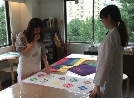 somenova diy dyeing workspace katsuragaya fine goods nihonbashi 3