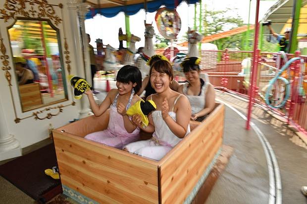 beppu spa amusement park yuenchi
