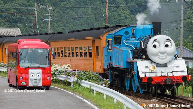 Thomas The Tank Engine Fans In Japan Ride A Full Size