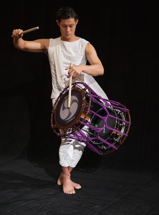 roland kodo world first electronic taiko drum