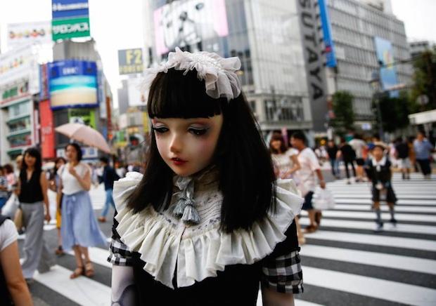 Meet Lulu Hashimoto A Living Doll Fashion Model Japan