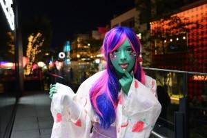 miyako akane ishokuhada body paint cosplay tokyo