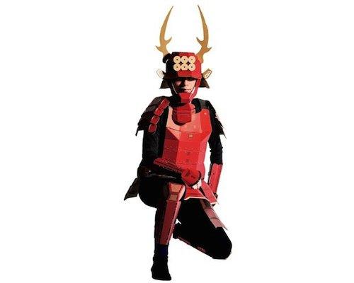 samurai costume japan