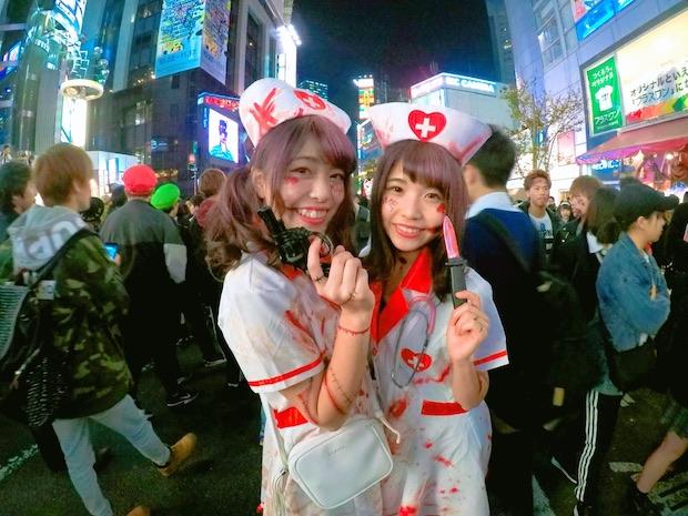 halloween tokyo shibuya japan costumes photo crazy hachiko