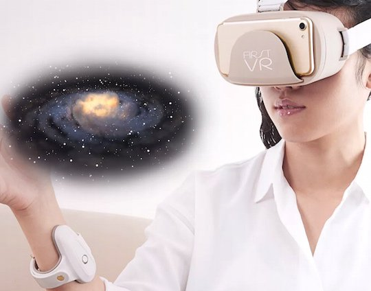 FirstVR Virtual Reality Goggles UnlimitedHandLite Controller Set