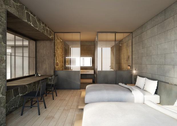 hotel koe tokyo tearoom japan chashitsu