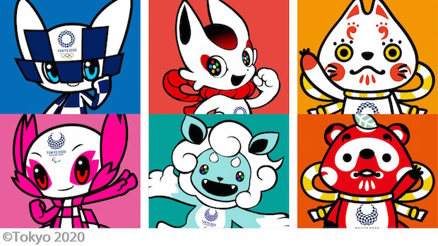 tokyo 2020 olympics paralympics games official mascots candidates japan
