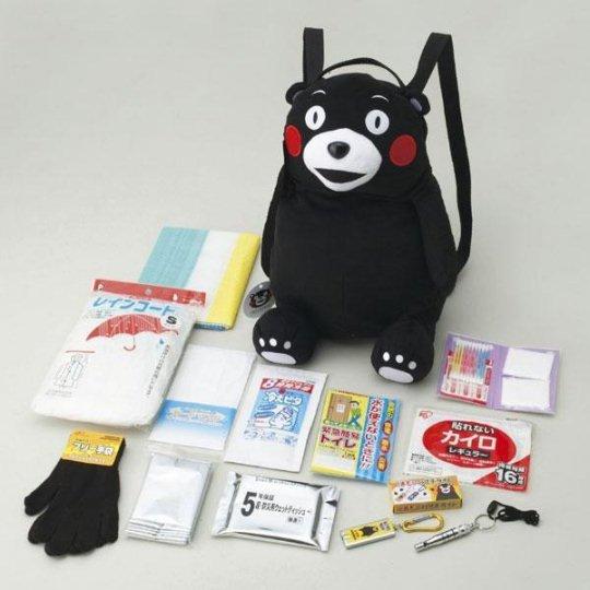 kumamon emergency rucksack