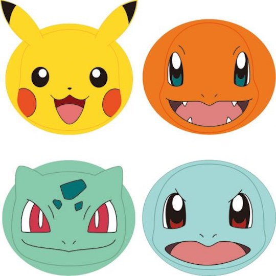 pokemon face packs