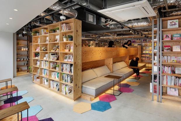 tsutaya book apartment coworking relaxation shinjuku