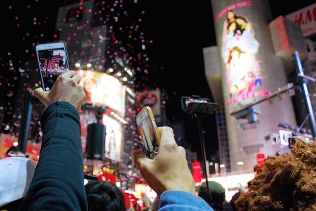shibuya scramble crossing new year eve countdown event