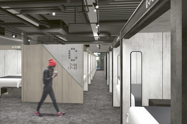 the millennials shibuya stylish accommodation designer tokyo capsule hotel