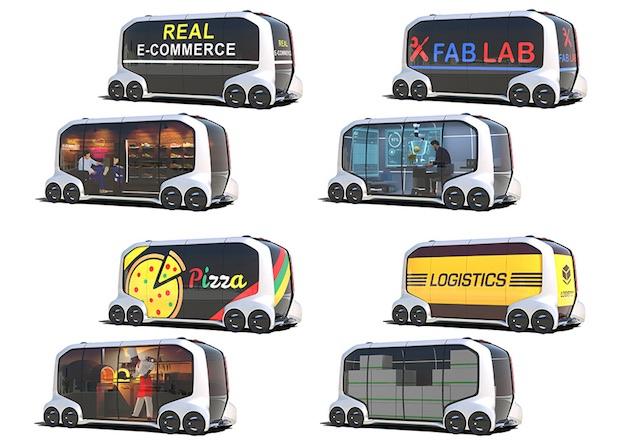 toyota epalette autonomous concept vehicle