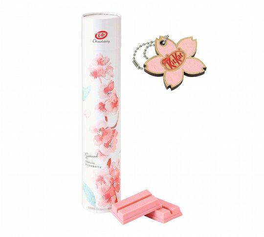kit-kat japan sakura cherry blossom strawberry