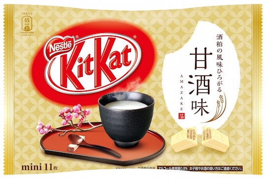 kit-kat japanese amazake sake sweet