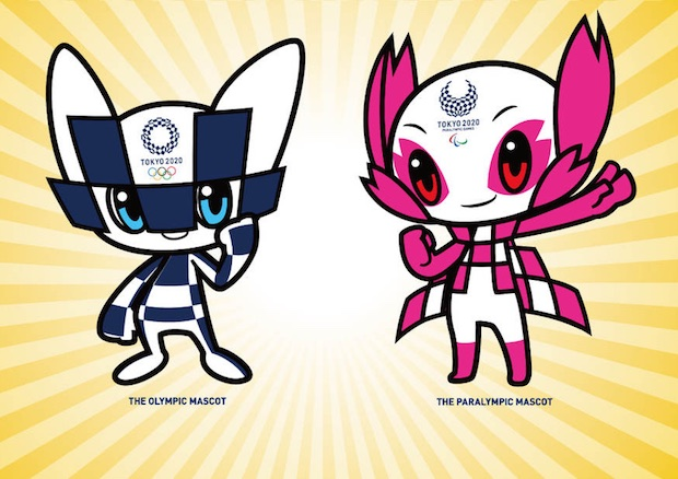 tokyo olympic games 2020 mascots official