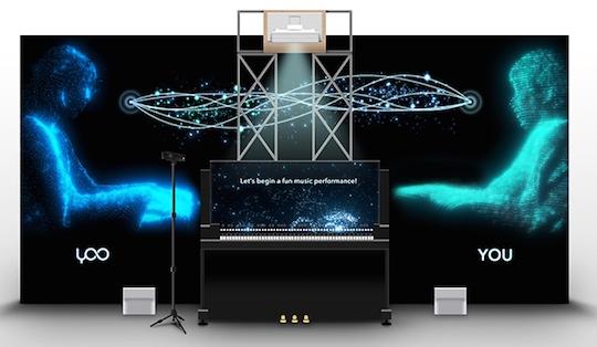 hakuhodo i-studio yamaha duet with yoo artificial intelligence music system